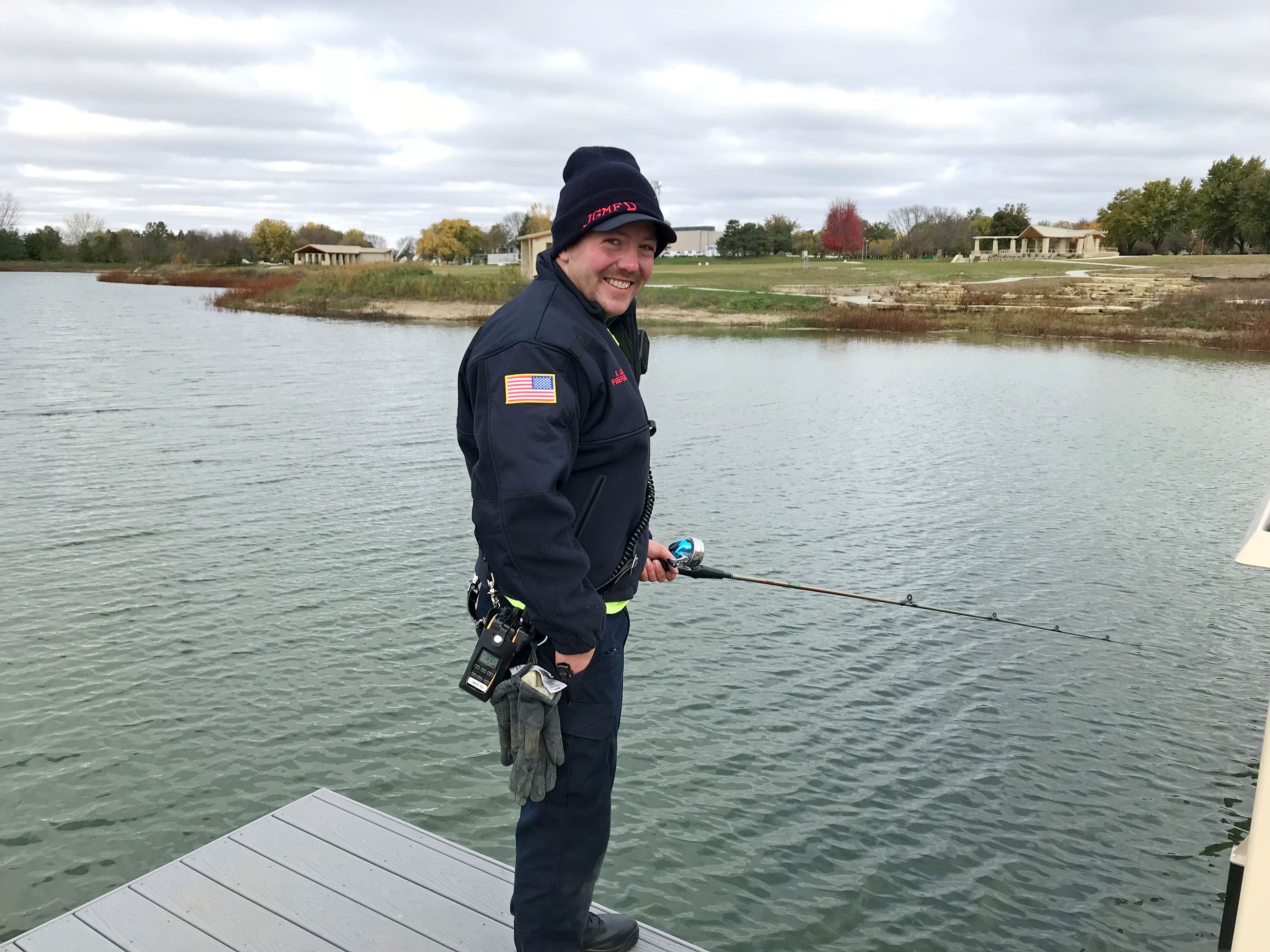 Fishing with a Firefighter 2017