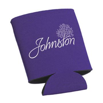 Koozie purple front