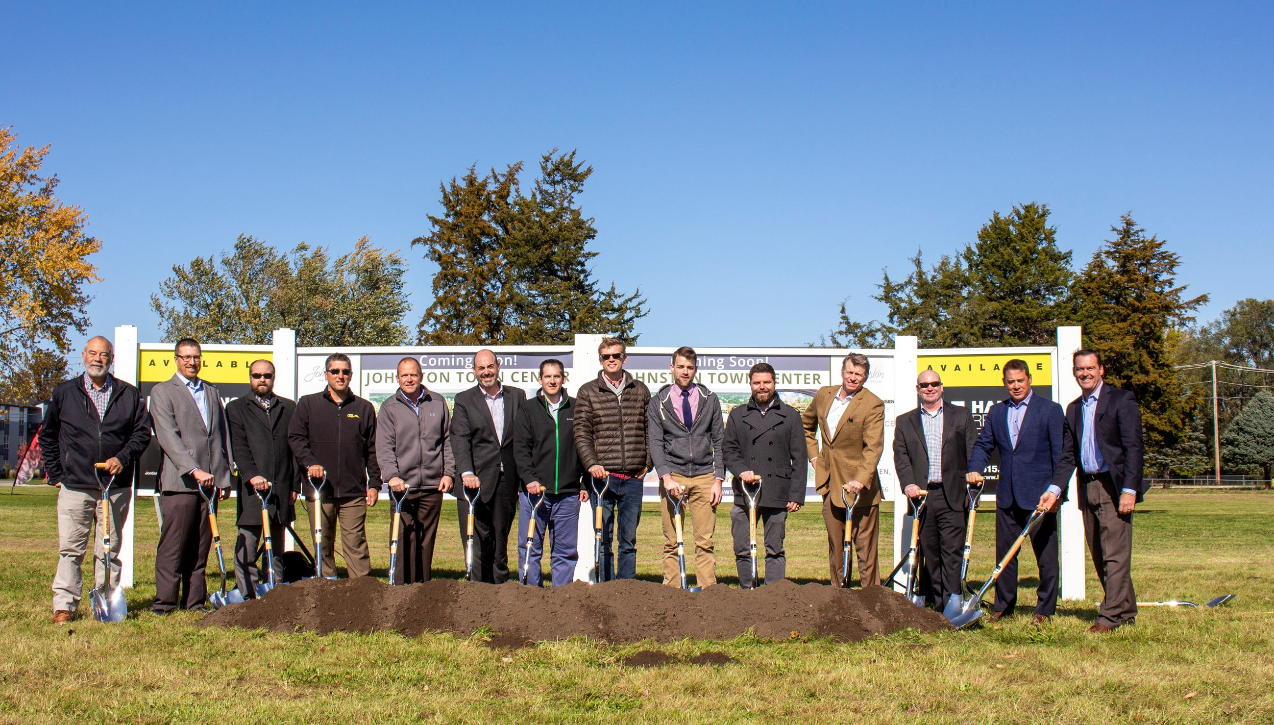 3. Johnston Town Center Groundbreaking_Oct. 2019