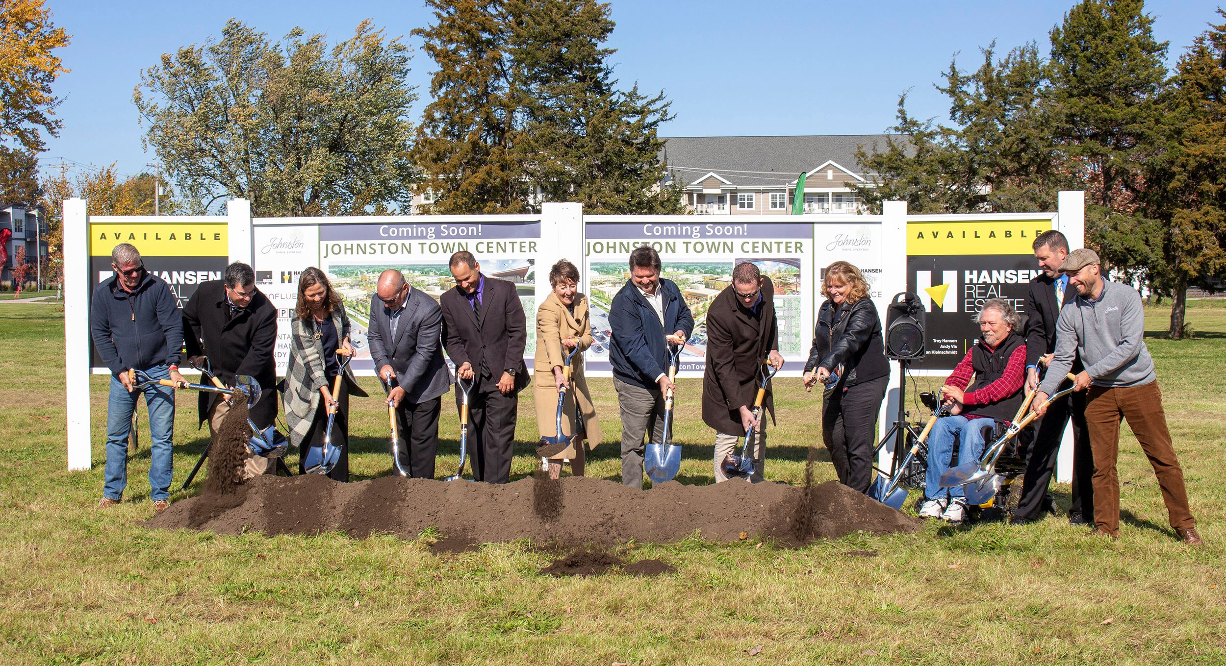 2. Johnston Town Center Groundbreaking_Oct. 2019_2500