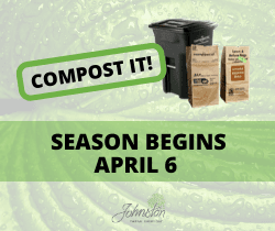 COMPOST IT SEASON BEGINS APRIL 6