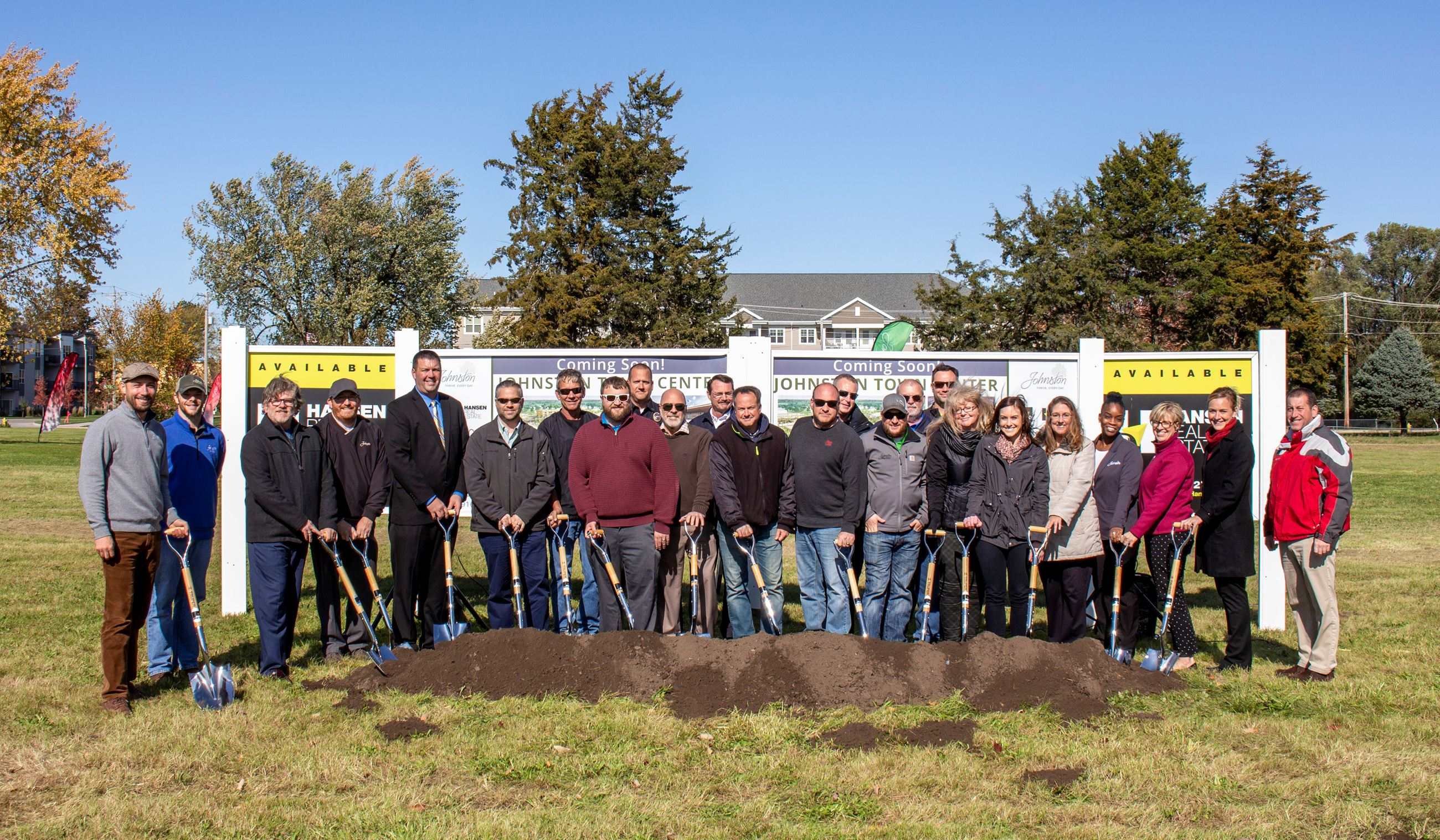 4. Johnston Town Center Groundbreaking_Oct. 2019