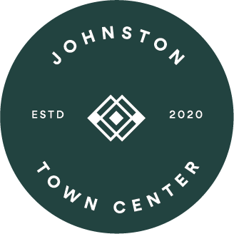Johnston Town Center logo green circle