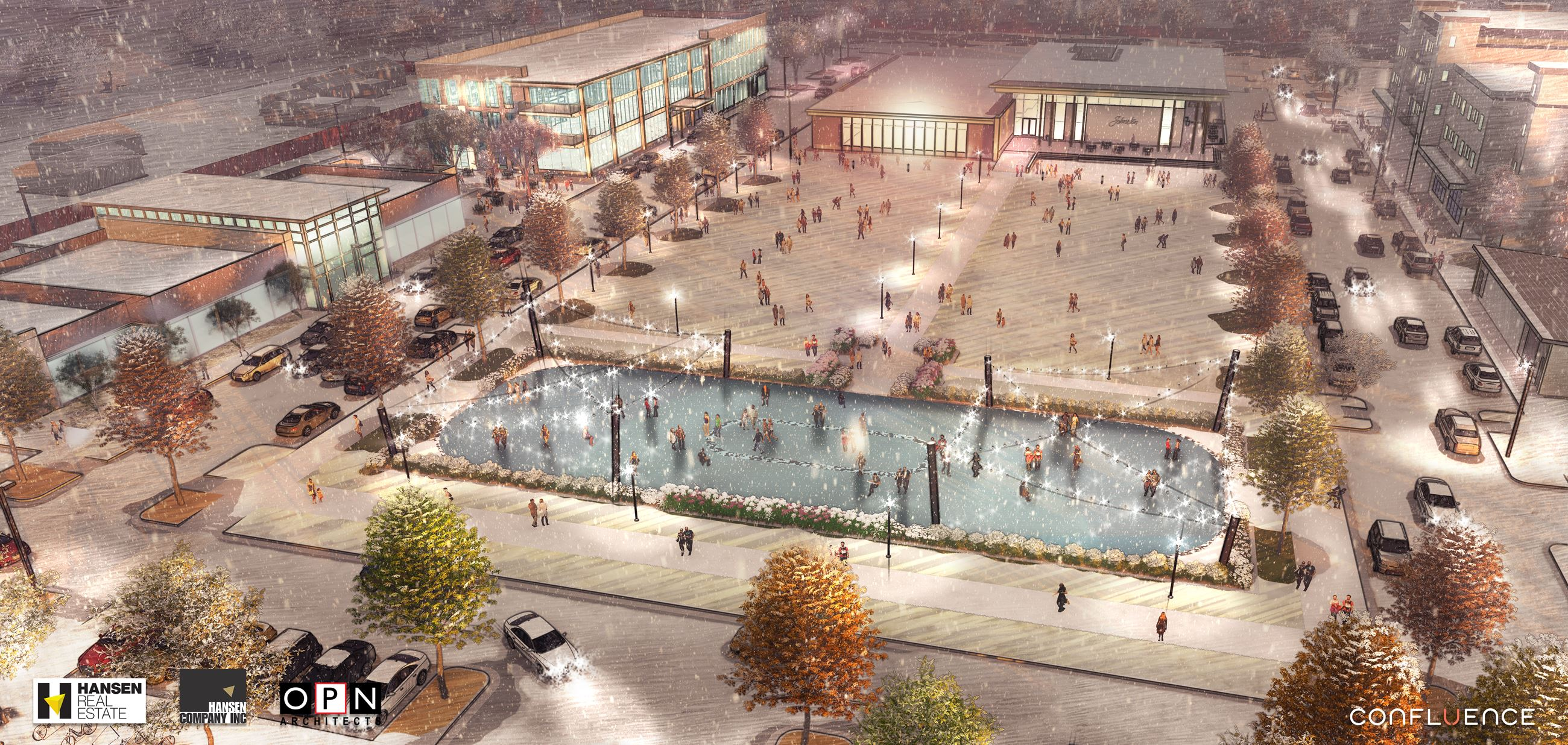 Johnston Town Center Rendering