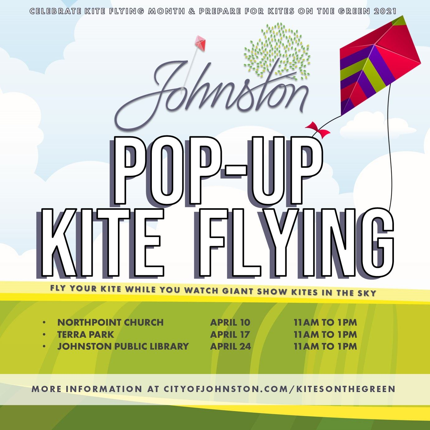 Pop-Up Kite Flying Event