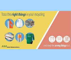 Toss the right things in your recycling_250x210