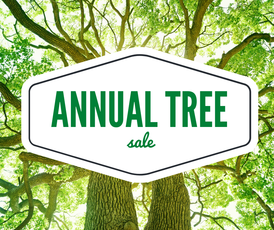 annual tree sale 2021