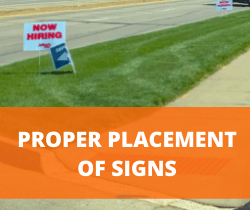PROPER PLACEMENT OF SIGNS_250X210